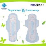 320mm ultradünne Frauen-gesundheitliche Auflage mit Flügeln