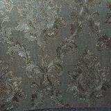 Couro de PVC floral para almofadas de estofamento de bar KTV Hw-986