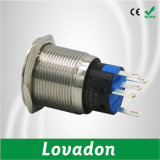 DEL bouton poussoir de 12 volts/commutateur de bouton poussoir