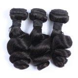 卸し売りバージンのRemyのブラジルの人間の毛髪の拡張は波を緩める