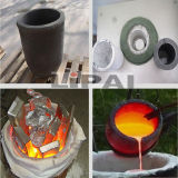 Four à induction de fréquence moyenne pour la fonte de fer de bâti/alliage de cuivre en acier/