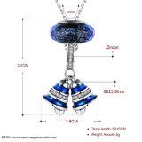 Una collana d'argento reale delle 925 dell'argento sterlina donne della collana
