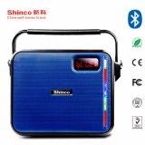 Le Président de karaoké de 6,5 pouces Shinco Batterie rechargeable portable avec la lumière haut-parleur Bluetooth