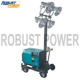 屋外の携帯用機械移動式照明タワー(RPLT-1600B)