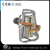 O Pin do equipamento da ginástica de Oushang carregou a onda Om-7008 do bíceps da máquina da força