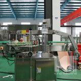 Máquina de etiquetado lateral doble plástica de cristal automática del palillo