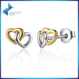 여자를 위한 간단한 금 은 귀걸이 디자인