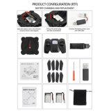 RCの小型の小型無人機のWiFi Fpvのカメラの高度の把握3Dは移行する頭のないモードの6軸線のジャイロコンパス4チャネルFoldble Quadcopter (黒)を