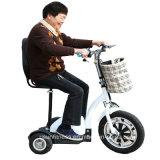 2018 جديد تصميم درّاجة ثلاثية كهربائيّة [سكوتر] كهربائيّة لأنّ إمرأة