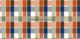 100%Polyester перекрестная решетка Pigment&Disperse напечатала ткань для комплекта постельных принадлежностей