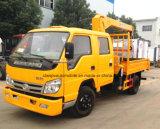 乗組員のタクシーForland 2台のTの油圧トラッククレーン6ホイール・クレーンのトラック