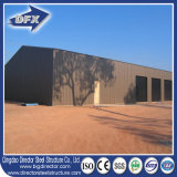 Costruzione prefabbricata industriale commerciale del magazzino della struttura d'acciaio