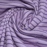 Tessuto della cialda della banda dello Spandex del cotone per vestiti