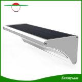 60 Licht van de Sensor van de Motie van de LEIDENE het ZonneRadar van de Microgolf Lichte 1100lm OpenluchtMuur Opgezette voor de Tuin van de Werf met Vier Aanstekende Wijzen