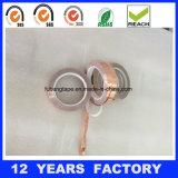 band van de Folie van het Koper van 0.085mm de AcrylKleefstof Gesteunde voor Beveiliging