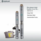 usine de la Chine de pompe à eau de l'acier inoxydable 4SD12/18