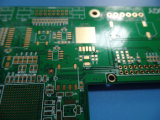 La impedancia de la capa Fr4 del PWB 6 del oro de la inmersión controló