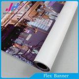 Entwurfs-Hintergrund-Flexfahne Rolls
