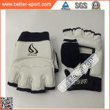 С другой стороны защитного кожуха Taekwondo рукавицы, Taekwondo вещевого ящика