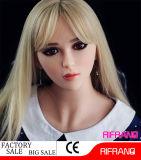 165cm reale Silikon-Geschlechts-Puppe-lebensechte Liebes-Puppe
