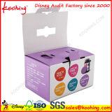 Boîte d'emballage promotionnelle en papier carton ondulé personnalisé pour produits