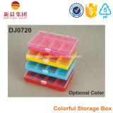 6つのコンパートメント多彩なプラスチックの箱