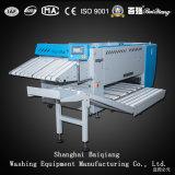 Het Strijken van de Rol van de Wasserij Ironer van drie Rollen Volautomatische Industriële Machine