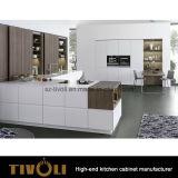 高い食料貯蔵室のマットのサンプルはっきりしたデザイン(AP091)の白い台所家具