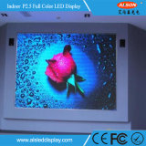 Pantalla fija de interior a todo color de P2.5 HD LED con la FCC