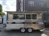 Stainless Steel Mobile Catering Caravan