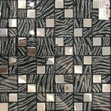 Mosaico del vidrio laminado del azulejo de la pared interior del material de construcción (M655002)