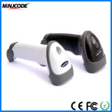 Ordinateur de poche haute vitesse Barcode Scanner Laser 1D, 200 acquisitions/Sec Barcode Reader USB/RS232/PS2 Interfaces, MJ2808