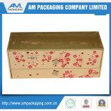 간단한 적절한 호화스러운 두꺼운 종이 적포도주 및 백색 정신 Packagings 상자