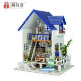 아이들 교육 실행 고정되는 인형 집 나무로 되는 아이 장난감