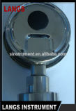 034 2016熱い販売法の化学シールのブルドン管圧力計の圧力計