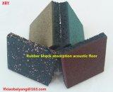 De rubber Mat van de Vloer van de Absorptie van de Schok Akoestische