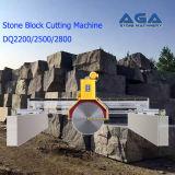 大理石または花こう岩のブロックの打抜き機(DQ2200/2500/2800)のための石造りのブロックのカッター機械