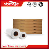 Neues 100GSM 24inch (610mm) Großhandelsrollenschnelles trockenes Sublimation-Umdruckpapier für Tintenstrahl-Drucker Epson/Mimaki/Roland