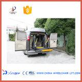 Ascenseur de fauteuil roulant de grue de fauteuil roulant électrique pour Van (WL-D-880U-1150)