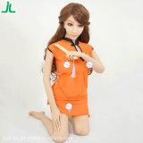 Jouet d'amour de poupée de sexe de corps de silicium de jouet réaliste réel de sexe de face de l'Asie plein pour l'homme