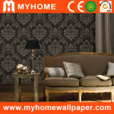 China Distribuidor lavable de PVC profunda pared de papel en relieve Wallcoverings
