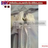 El tema del partido y Jardín vestido de novia Decoraciones del partido (W1065)