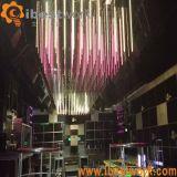 DMX RGB LED 3Dの縦の管の流星ライト