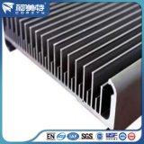 En l'Extrusion standard de l'anodisation Silver/ dissipateur de chaleur en aluminium noir