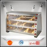 Étalage de chauffage de modèle de nourriture de nourriture neuve de réchauffeur