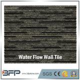 Плитка стены гранита черноты конструкции нутряной стены с разделением и отполированной отделкой
