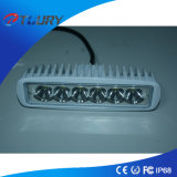 Éclairage LED de voiture Lampes lumineuses de travail avant Osram 18W