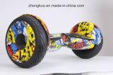 Motorino d'equilibratura di Hoverboard della zebra delle 2017 due rotelle del pattino di auto musicale elettrico che attraversa il paese del bluetooth