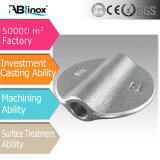 Ablinox personalizou a válvula de borboleta do aço inoxidável da carcaça