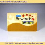 Colores completos de tarjetas de banda magnética PVC para la tarjeta de bonificación